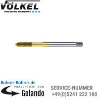 M 3 - 16, HSS-E, TIN, Toleranz ISO2X/6HX, ISO-Gewinde DIN 13