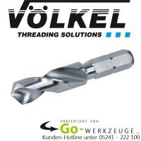 STI Spiralbohrer V-Coil rapid, 2,6 - 12,4 mm, 1/4