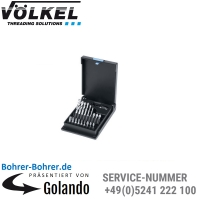 Q.C. 4 - Spiralbohrer-Bits, 3,0 - 10,0 mm, HSS-G, K-Kassette