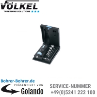 Q.C. 3 - Kegelsenker-Bits, 6,3 - 20,5 mm, HSS, K-Kassette
