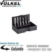 Einschnittgewindebohrer-Bit-Satz M3-10,HSS-G,Kunststoff-Kassette