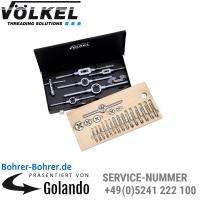 Werkzeugsätze M, Mf, G, BSW, BSF oder NPT, Metall-Kassette