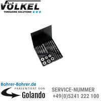 M 3-4-5-6-8-10, mit Maschinengewindebohrer ISO 529, K-Kassette