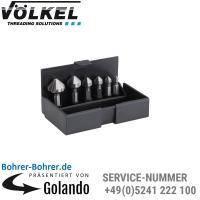 Kegelsenker-Bit-Satz 6,3 - 20,5 mm, HSS, in Kunststoff-Kassette