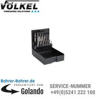 M 3-4-5-6-8-10-12, HSSE, Maschinengewindebohrer, TIN optional