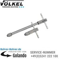 VÖLKEL Werkzeughalter mit Knarre, M5-M12, Länge 100 mm, Nr. 2